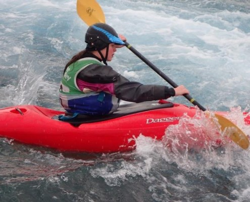 Kayaking with a disability